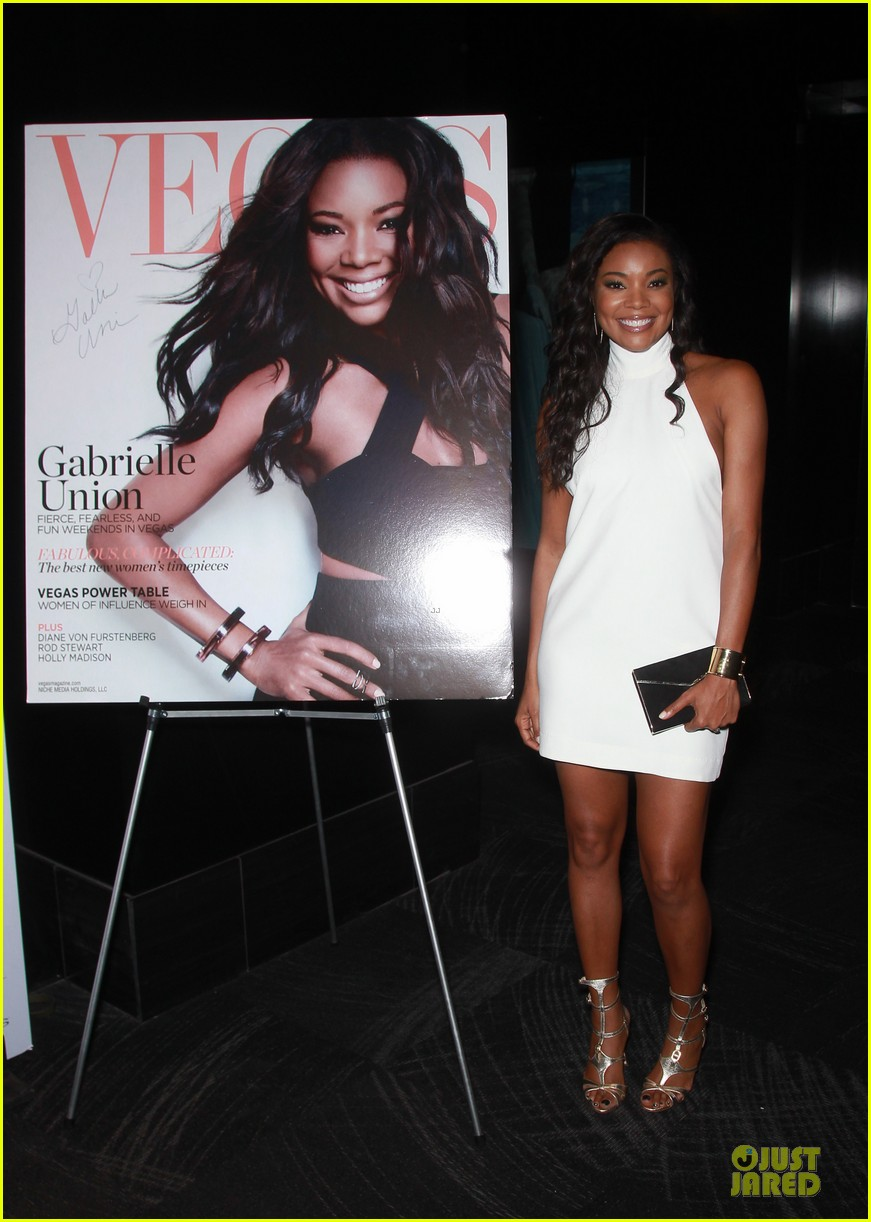 gabrielle union sexy back at vegas cover party 173130993