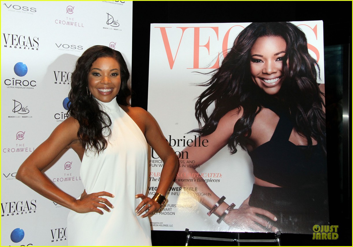 gabrielle union sexy back at vegas cover party 19