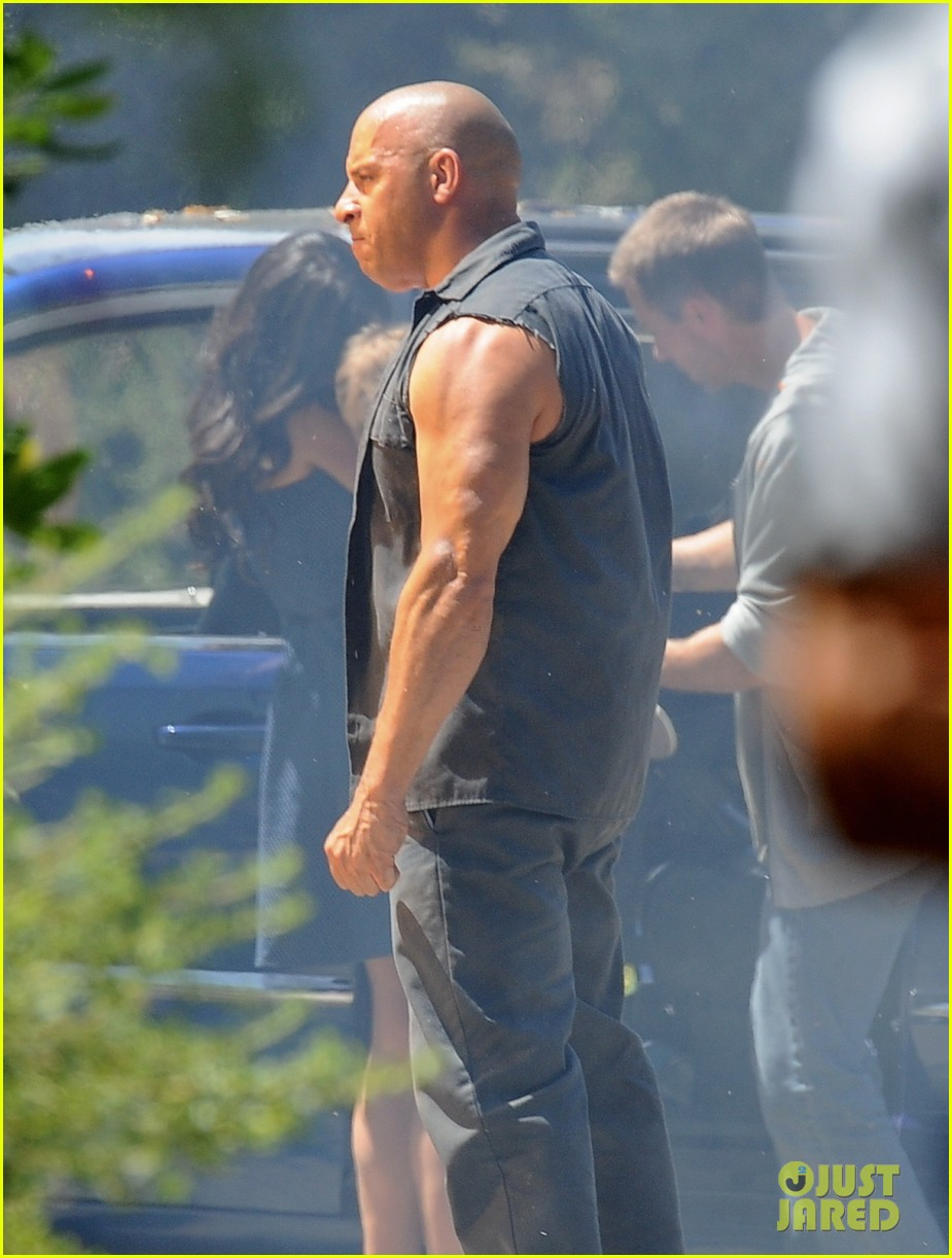 vin diesel does some fiery stunt work for fast furious 7 103128913
