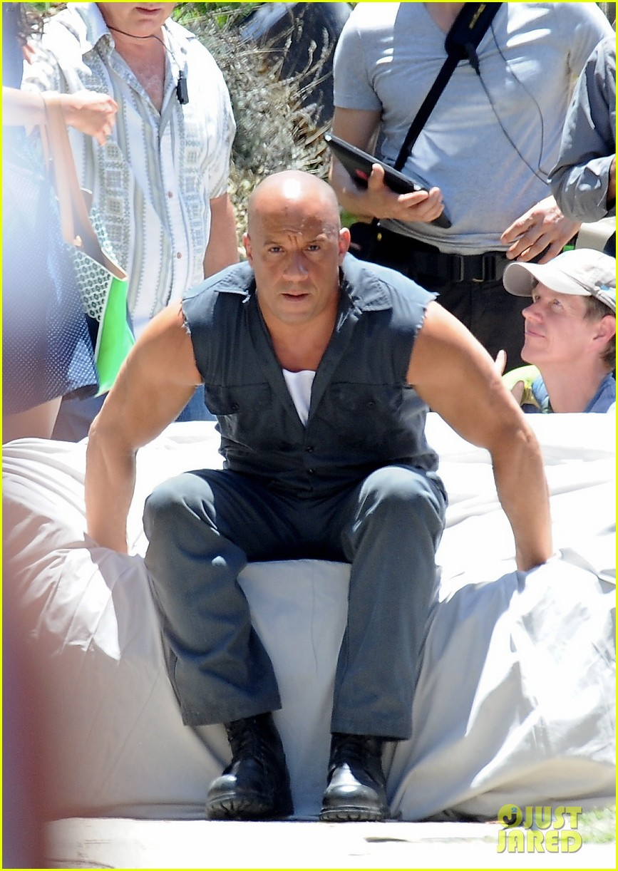 vin diesel does some fiery stunt work for fast furious 7 133128916