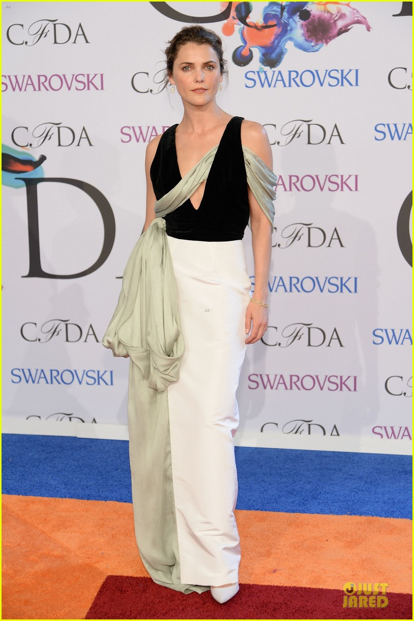 olivia wilde keri russell black at cfda awards 2014 09