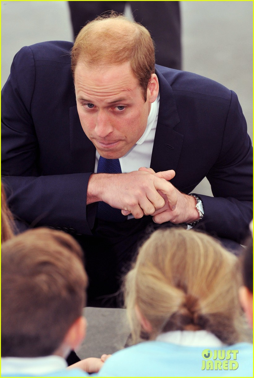 prince william tells students he likes coldplay linkin park 053128731