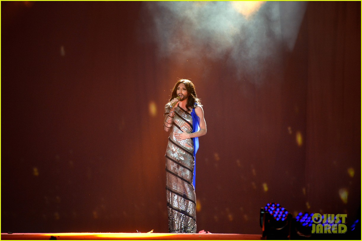 conchita wurst wears five glam looks over life ball weekend 113125644