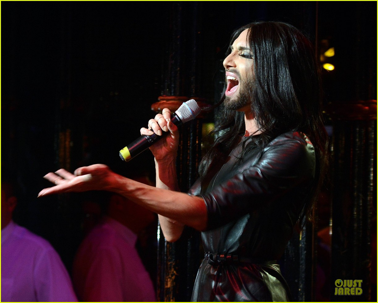 conchita wurst makes statement on love respect tolerance 113145277