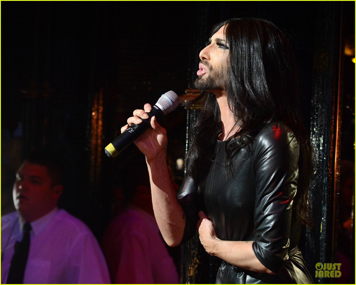 conchita wurst makes statement on love respect tolerance 173145283