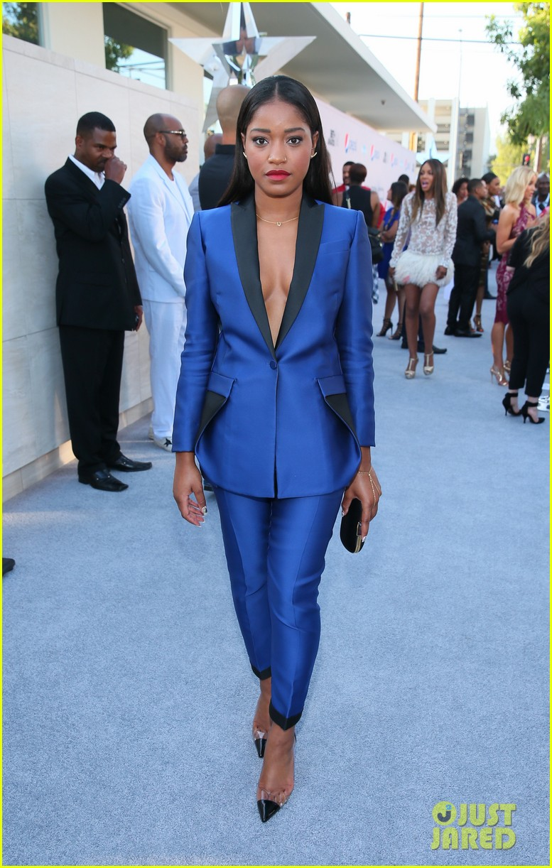 zendaya keke palmer tristan wilds bet pre dinner 14