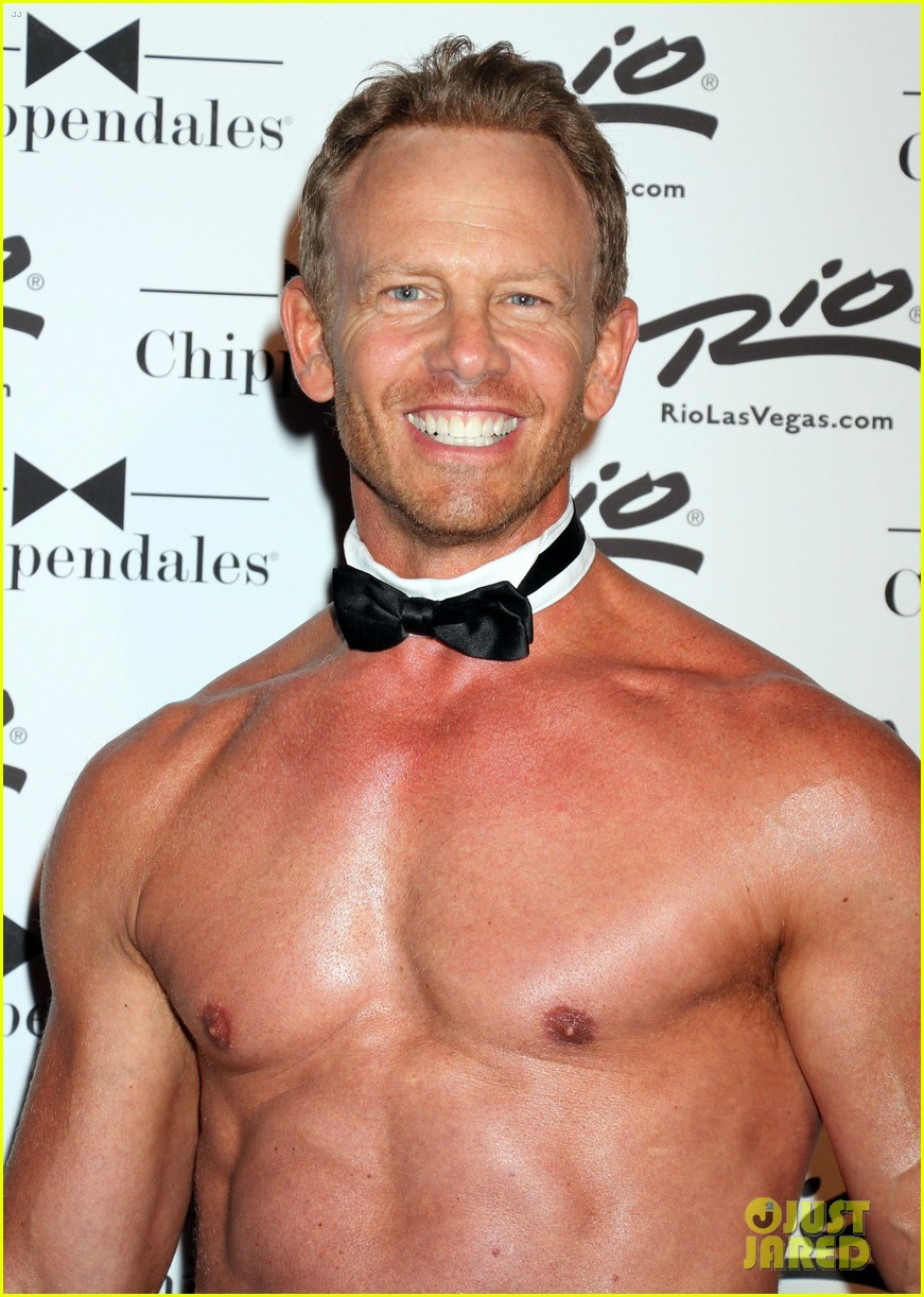 ian ziering shirtless chippendales 043136398