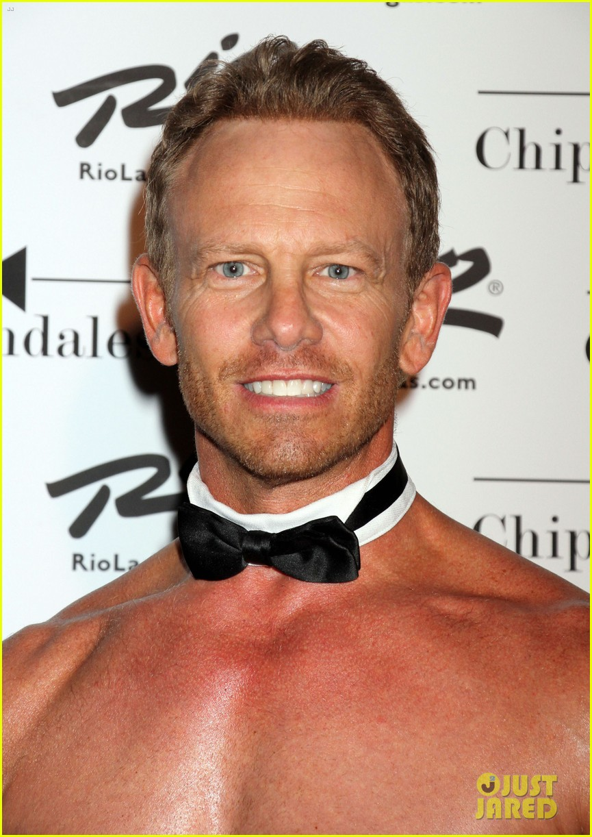 ian ziering shirtless chippendales 073136401