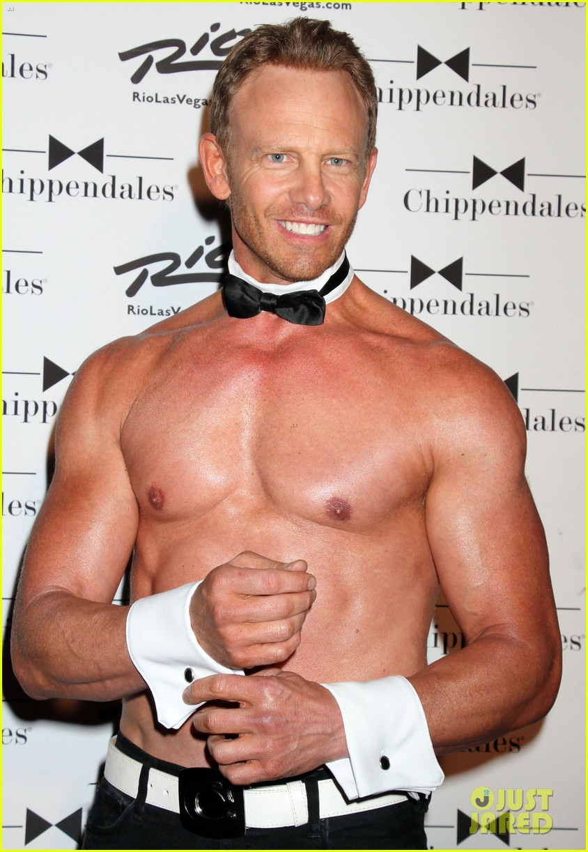 ian ziering shirtless chippendales 093136403