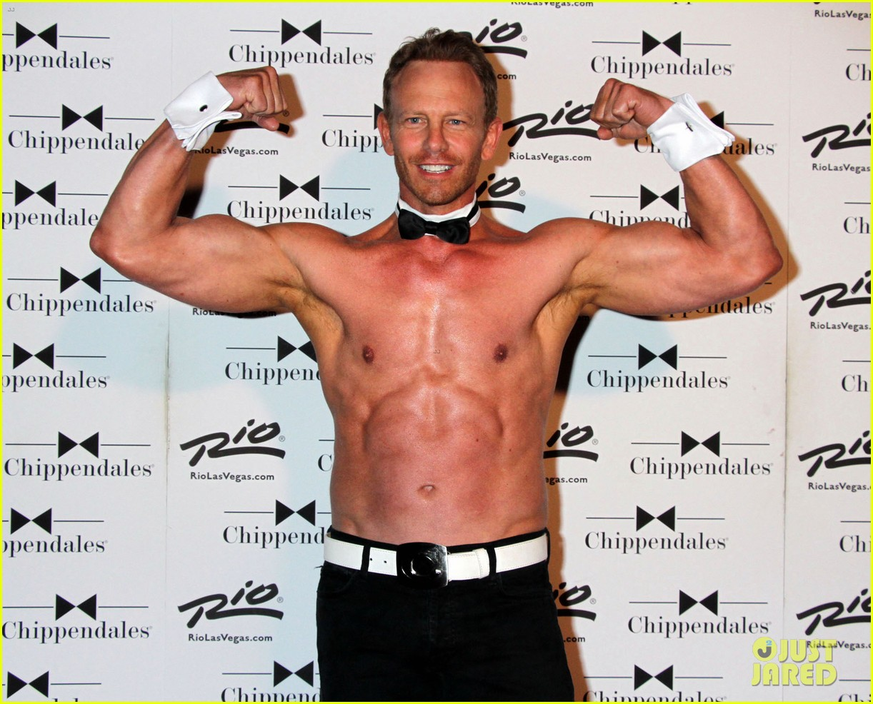 ian ziering shirtless chippendales 103136404