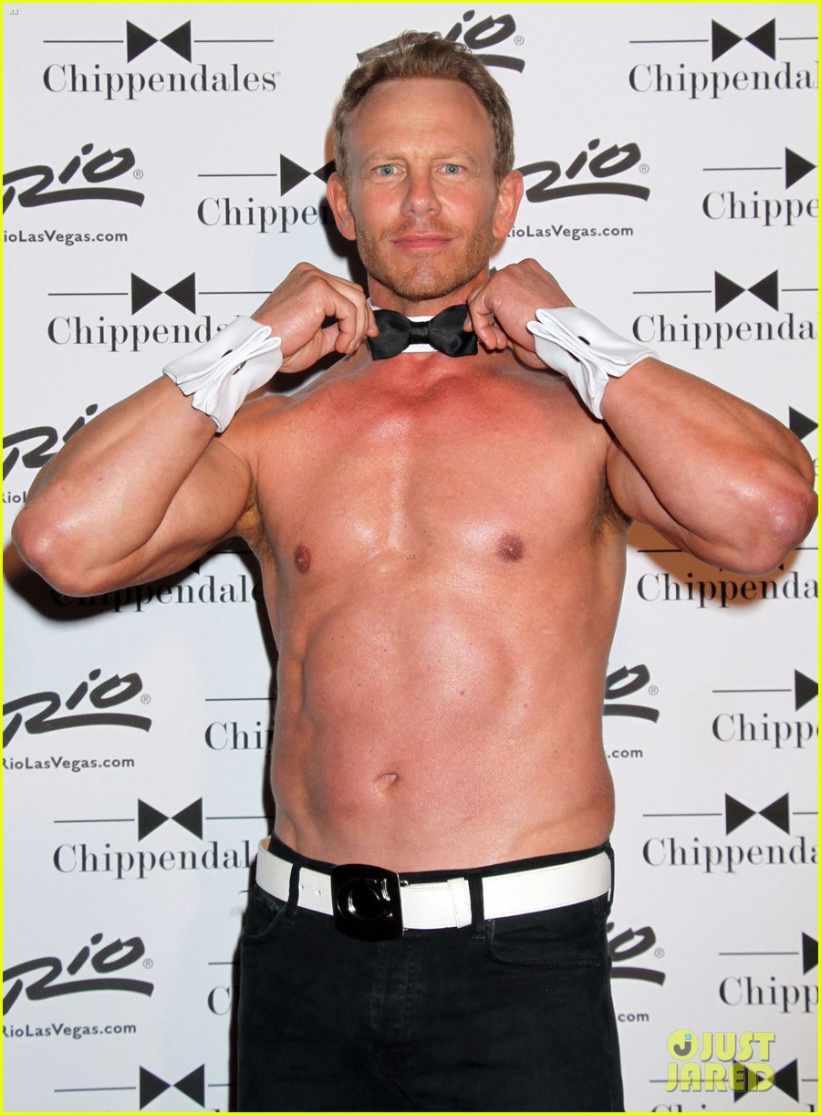 ian ziering shirtless chippendales 11
