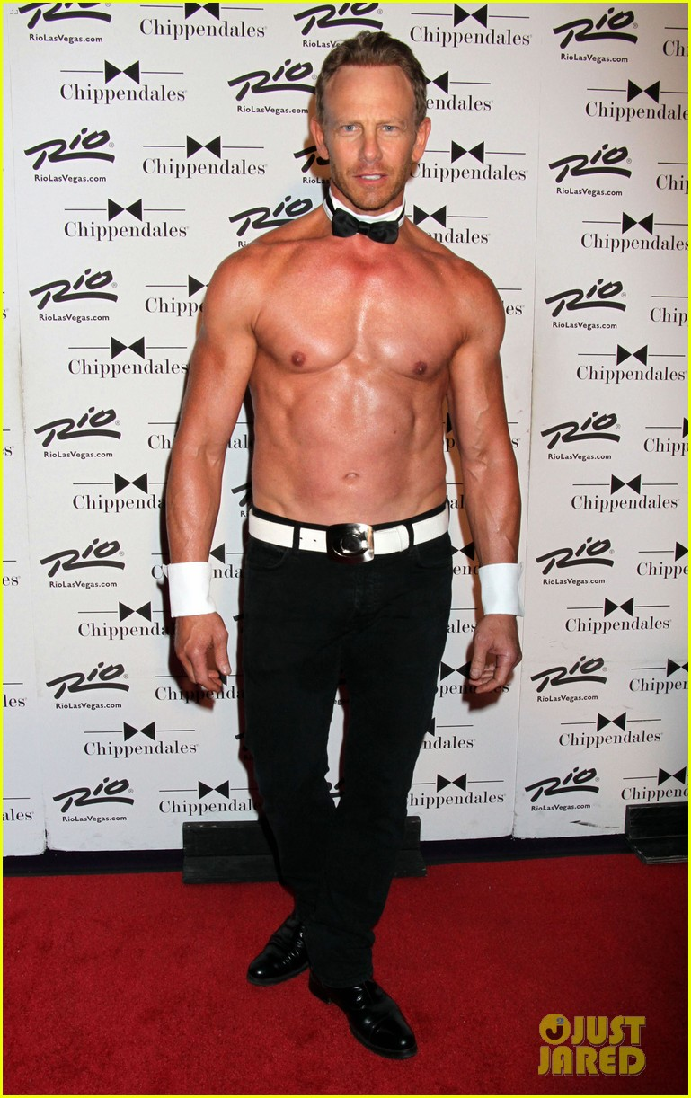 ian ziering shirtless chippendales 12