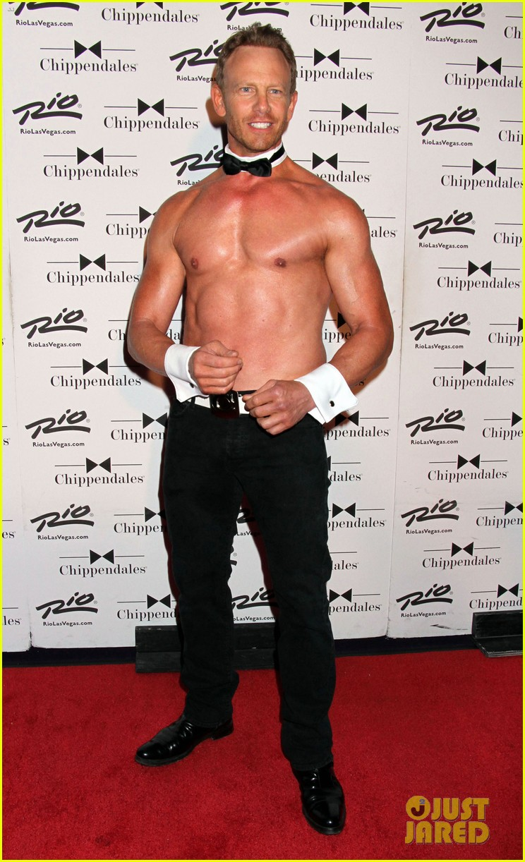 ian ziering shirtless chippendales 133136407