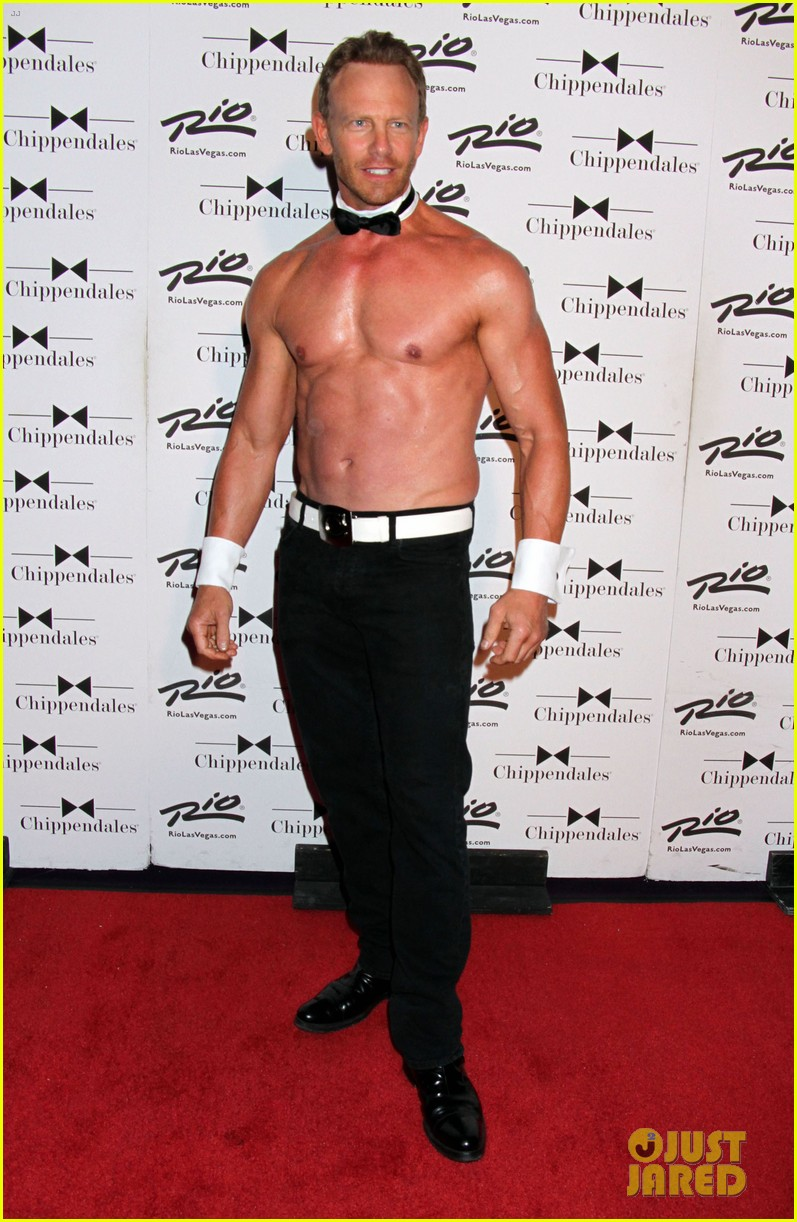 ian ziering shirtless chippendales 143136408