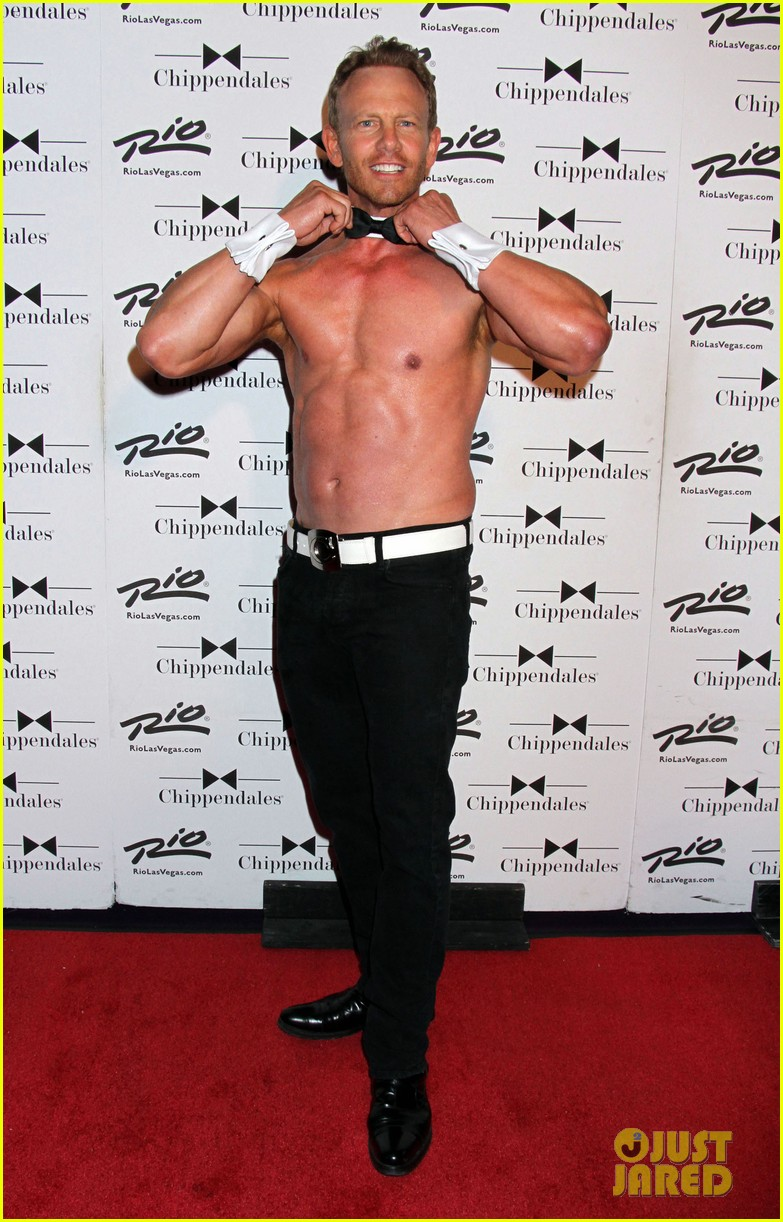 ian ziering shirtless chippendales 163136410