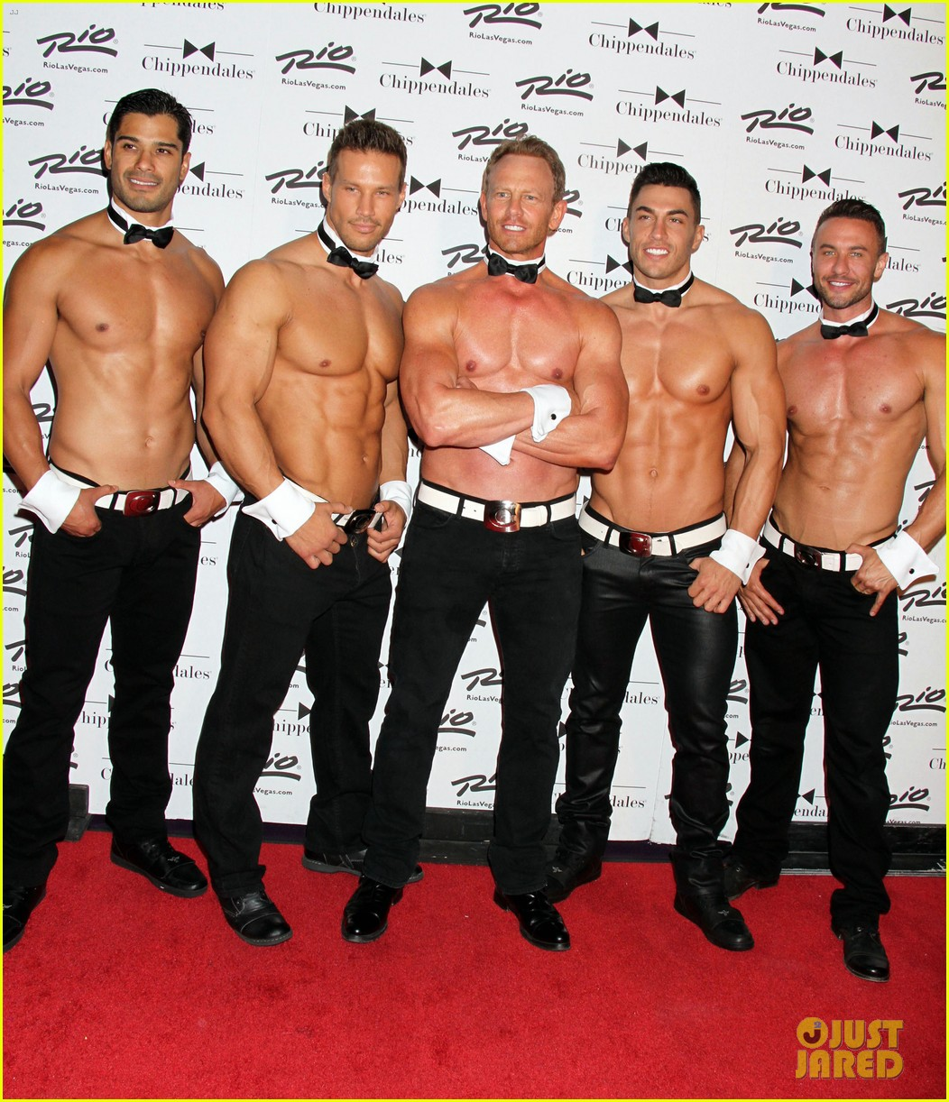 ian ziering shirtless chippendales 223136416