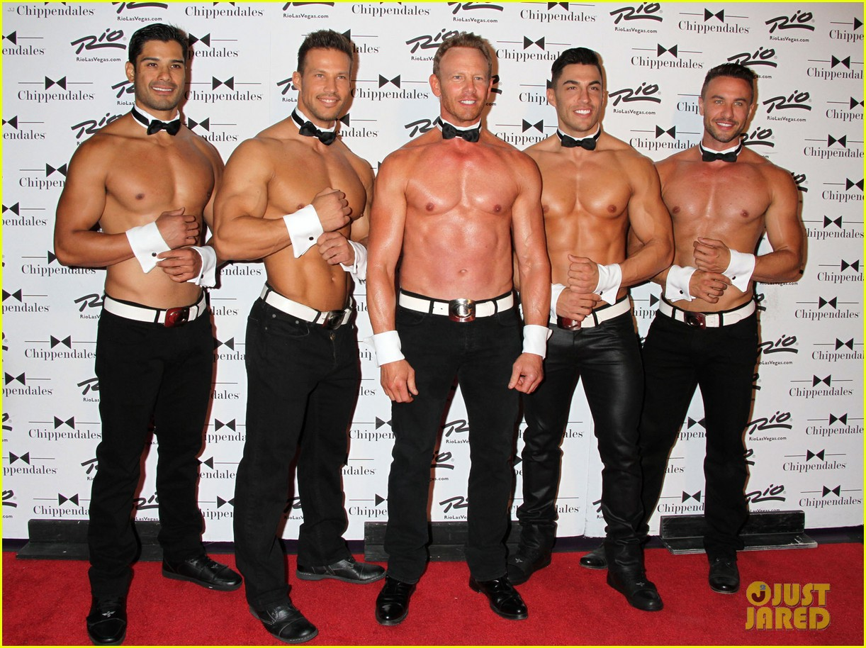 ian ziering shirtless chippendales 233136417