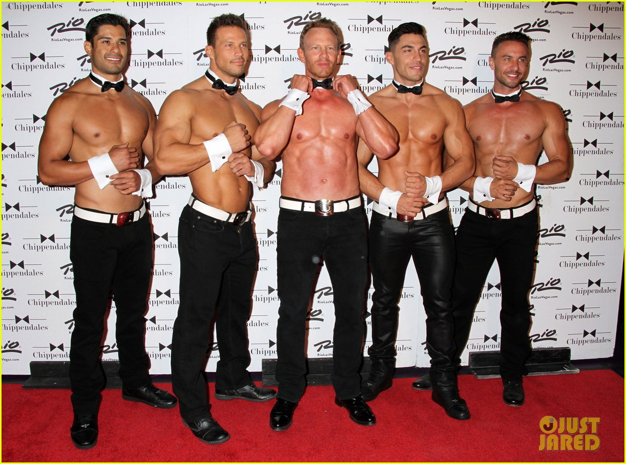 ian ziering shirtless chippendales 24