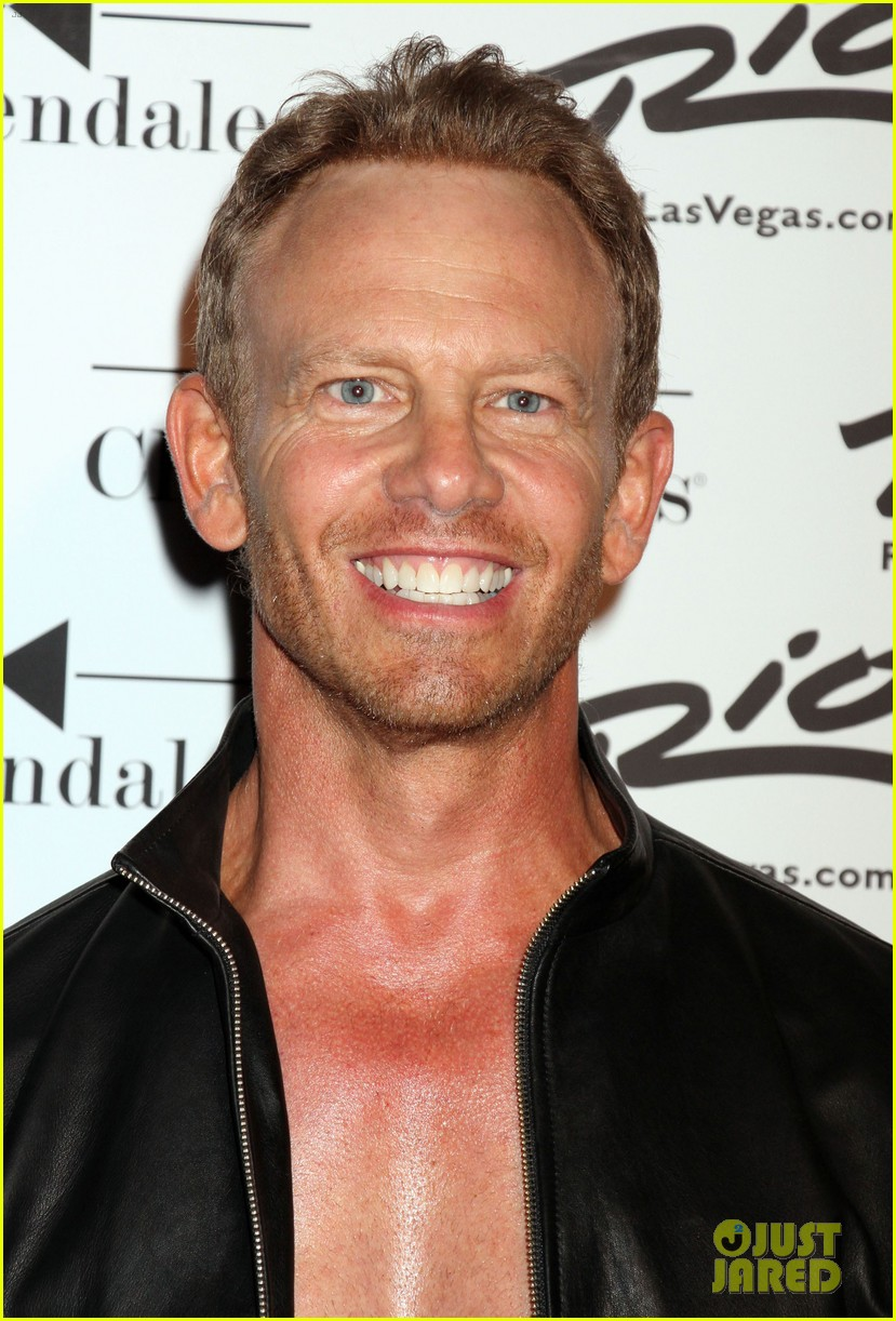 ian ziering shirtless chippendales 253136419