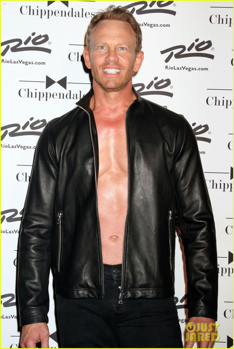 ian ziering shirtless chippendales 263136420