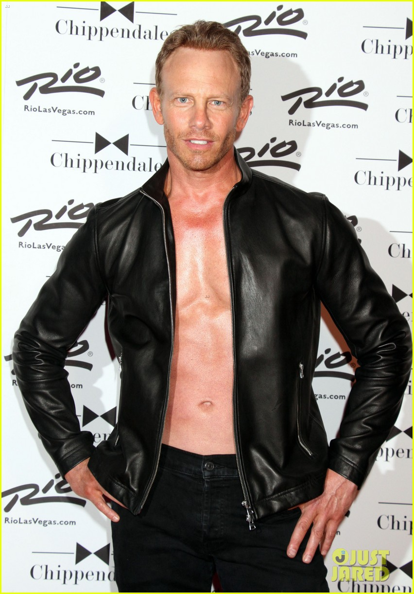 ian ziering shirtless chippendales 273136421