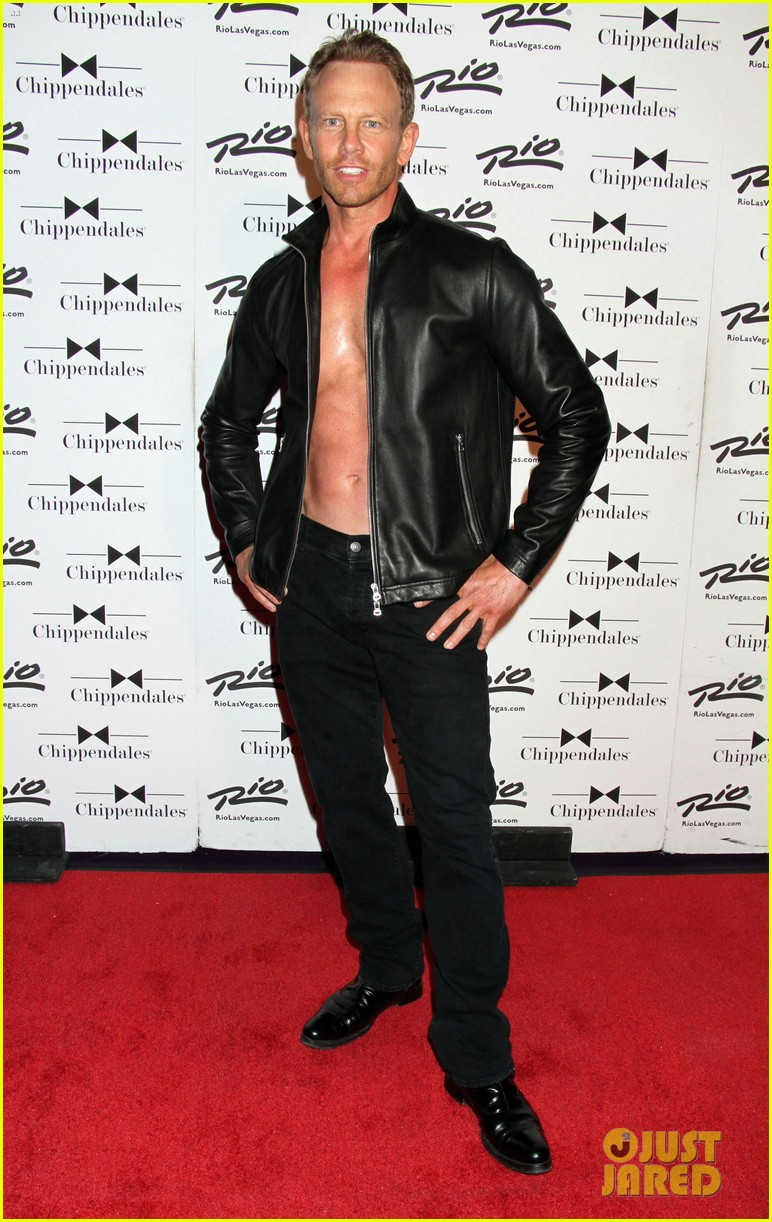 ian ziering shirtless chippendales 283136422