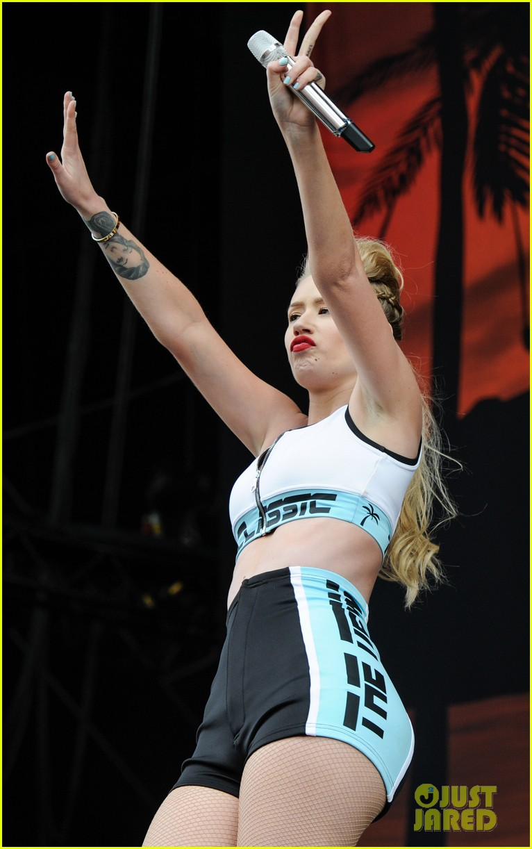 iggy azelea wireless festival performance london 133150586