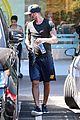 david beckham gets his morning off to the right start with a workout 05