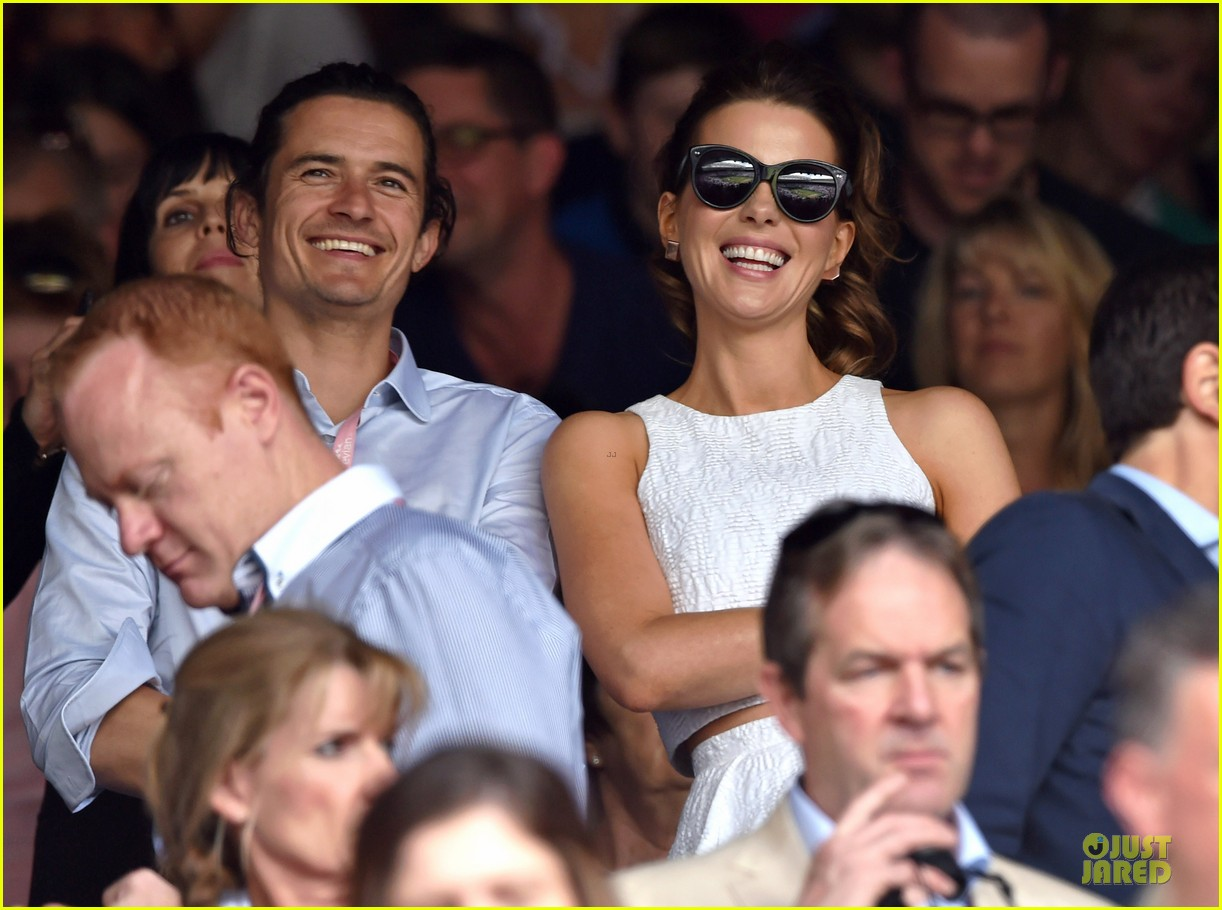orlando bloom kate beckinsale have a blast at wimbledon 01