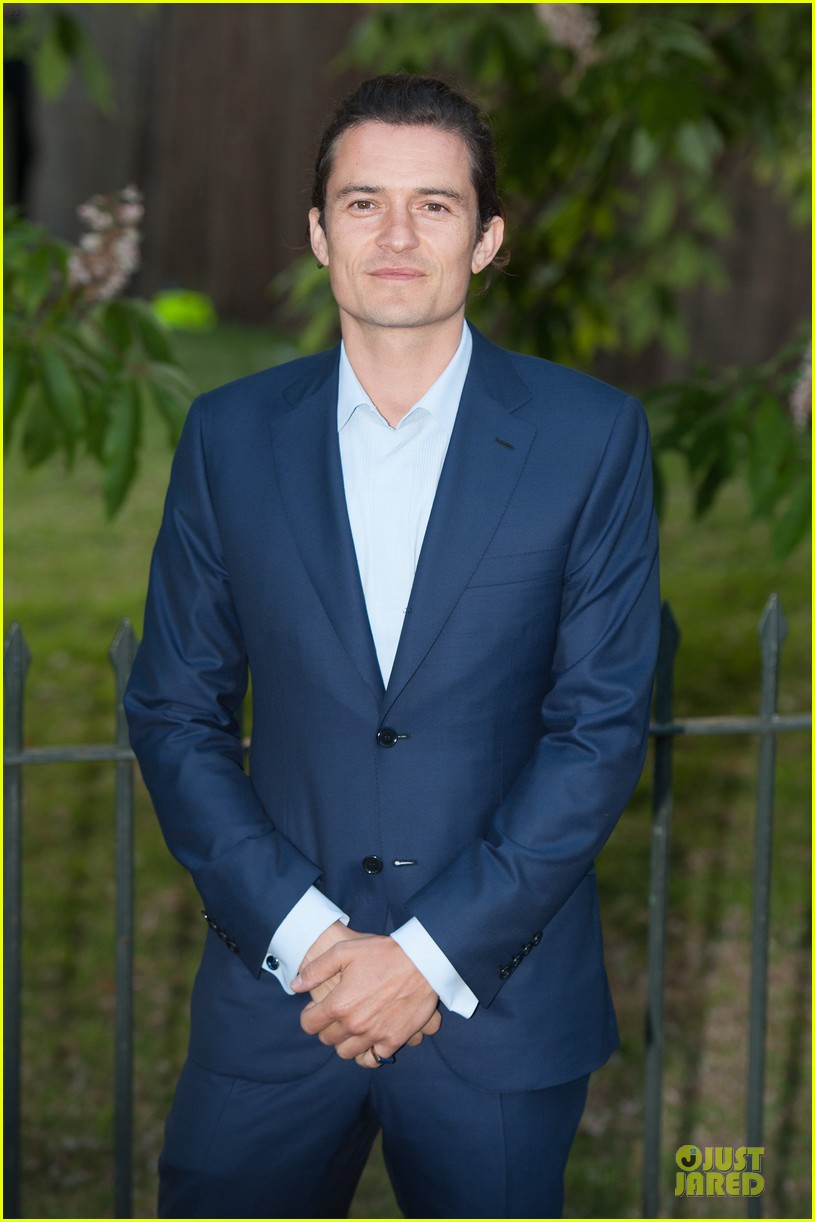 orlando bloom pharrell williams serpentine gallery party 023147833