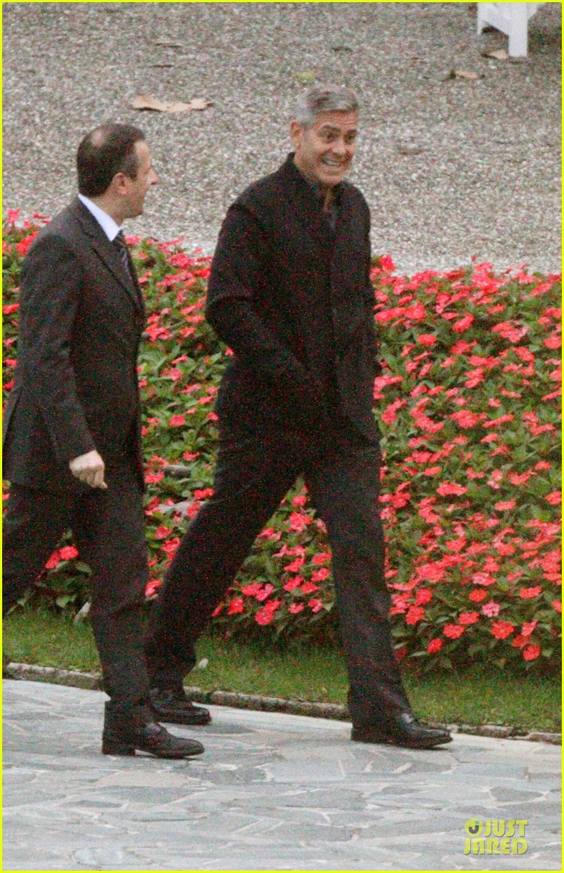george clooney grant heslov meet up in italy 013152048