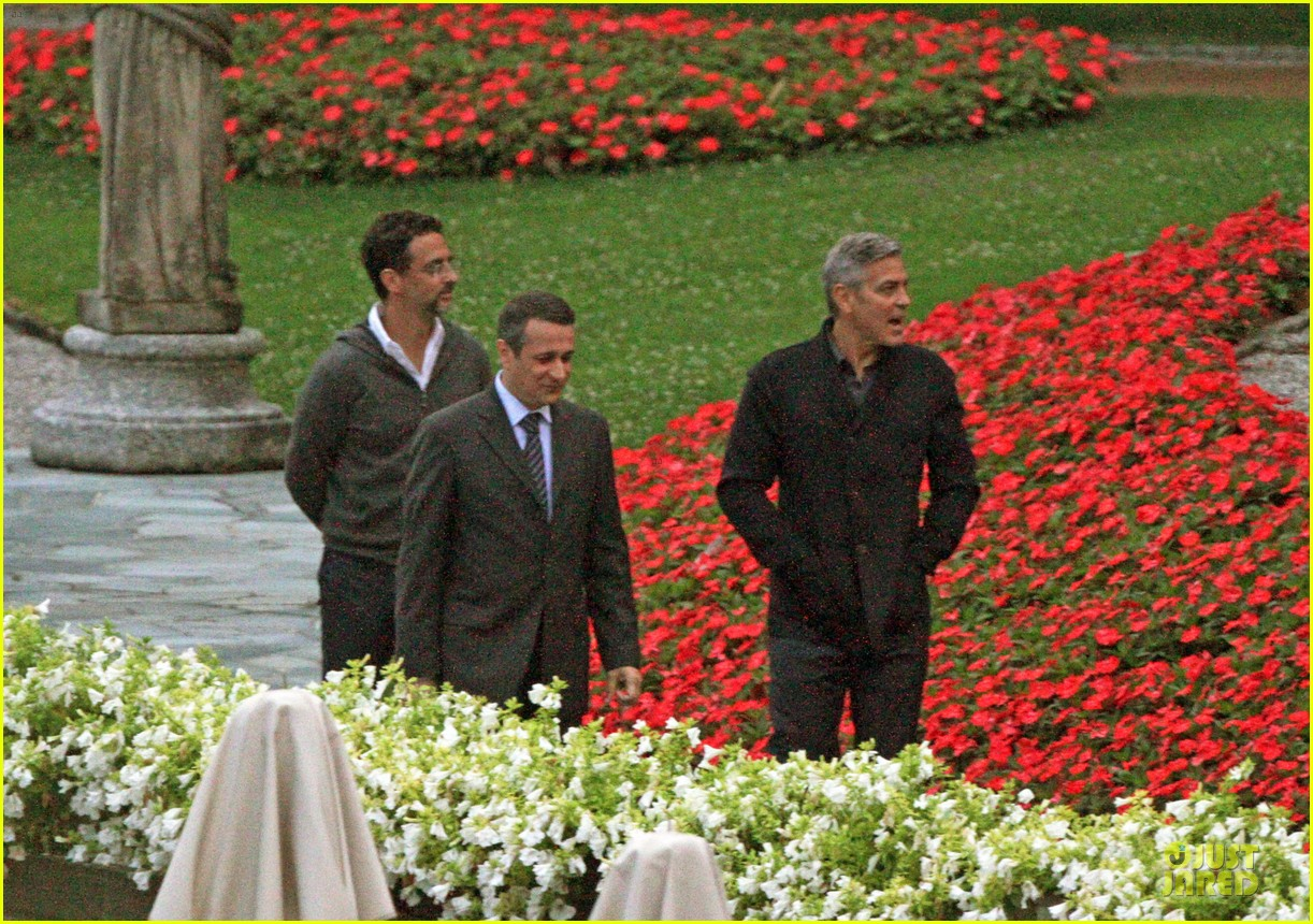george clooney grant heslov meet up in italy 083152055