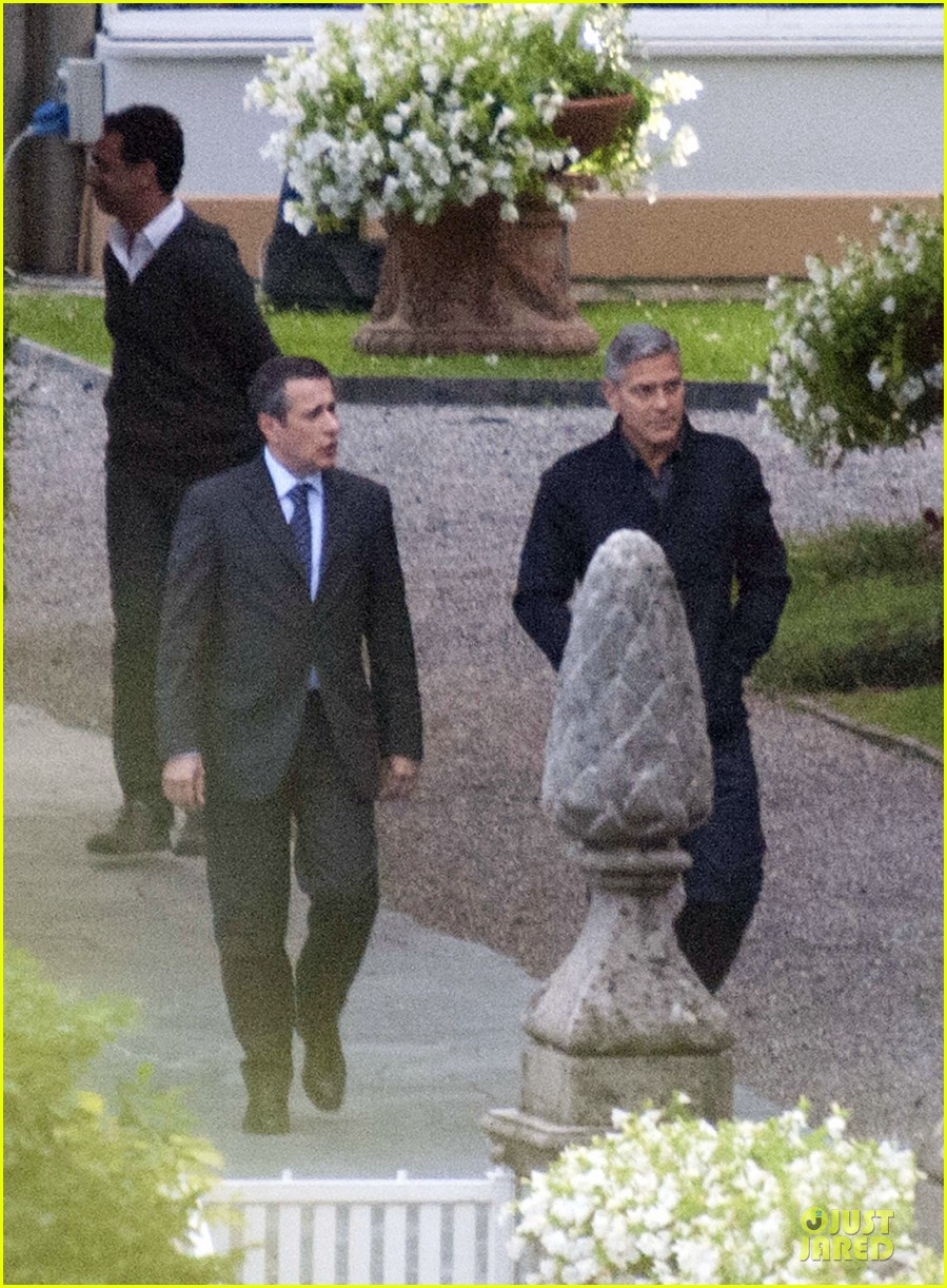 george clooney grant heslov meet up in italy 093152056