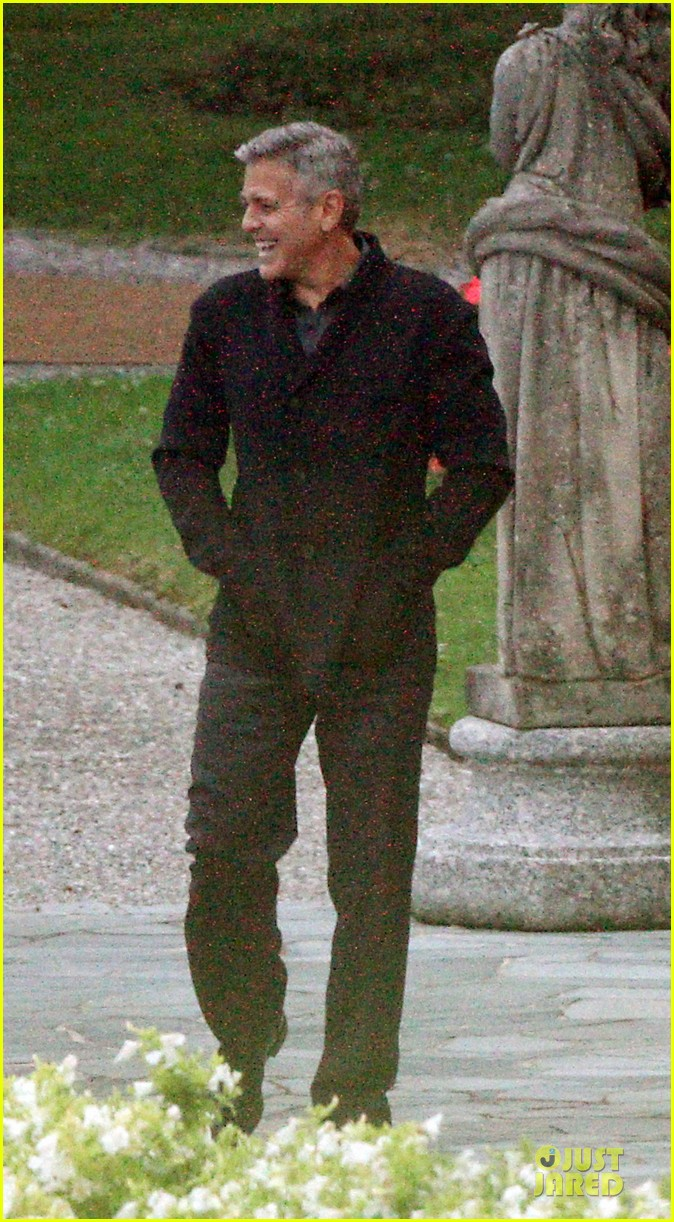 george clooney grant heslov meet up in italy 133152060