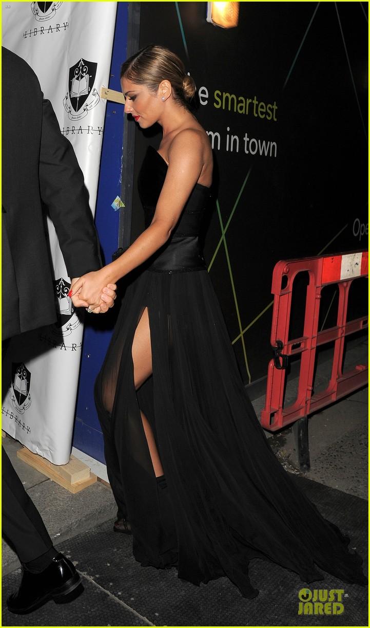 cheryl cole husband jean bernard match in black for wedding party 123161422