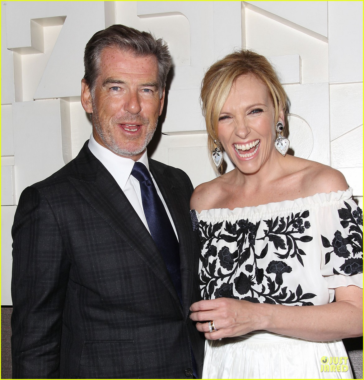 toni collette pierce brosnan long way down premiere 153147356