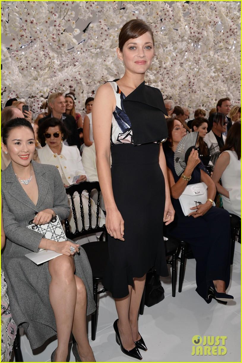 marion cotillard ziyi zhang christian dior fashion show 073150962