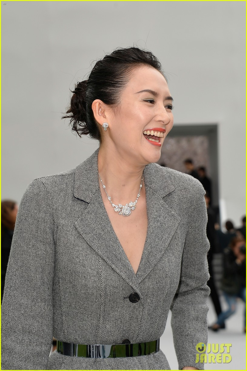 marion cotillard ziyi zhang christian dior fashion show 11
