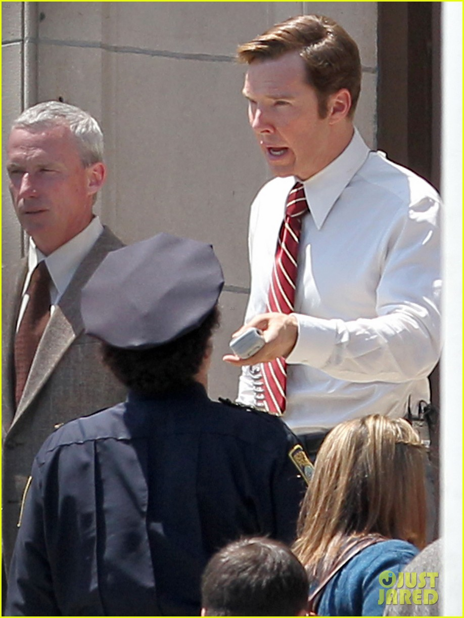 benedict cumberbatch tried his first cannoli this past weekend 043147541