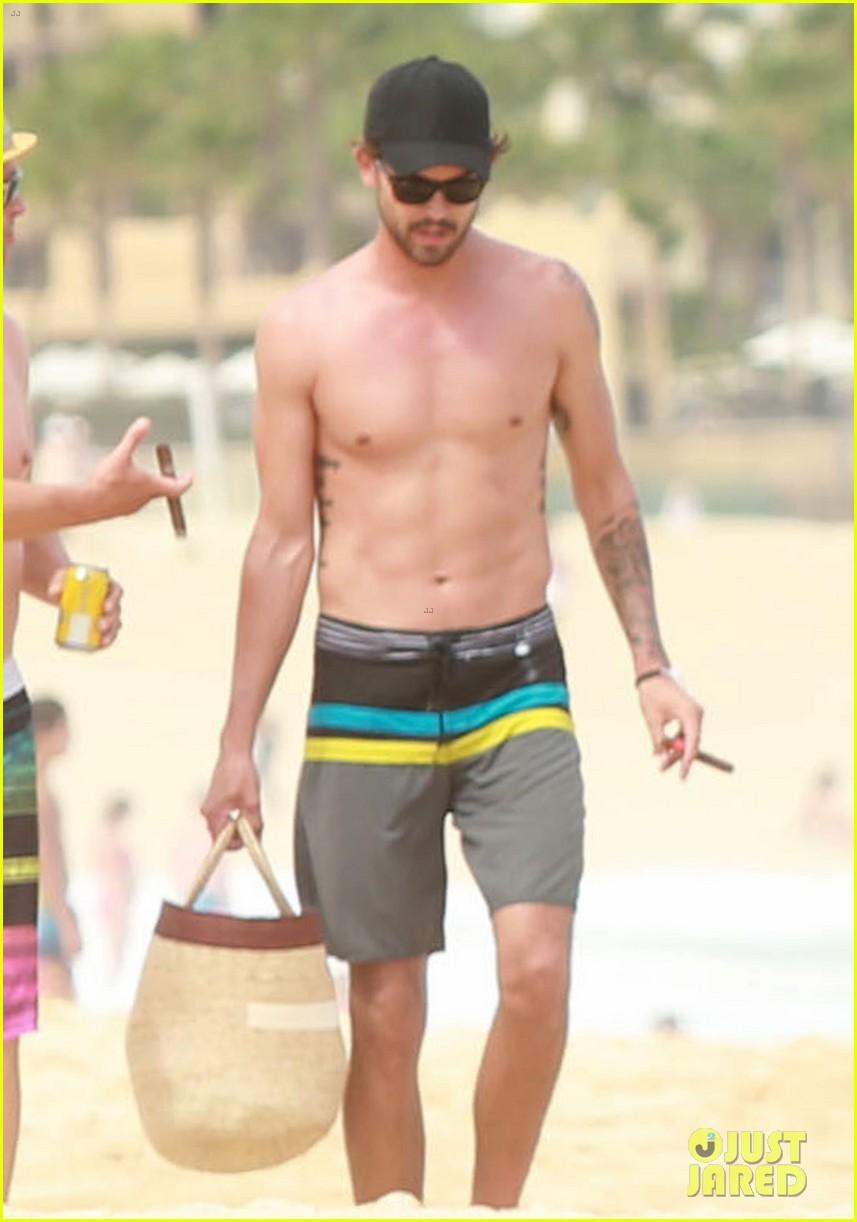 kaley cuoco covers bikini body with sheer wrap 043149962