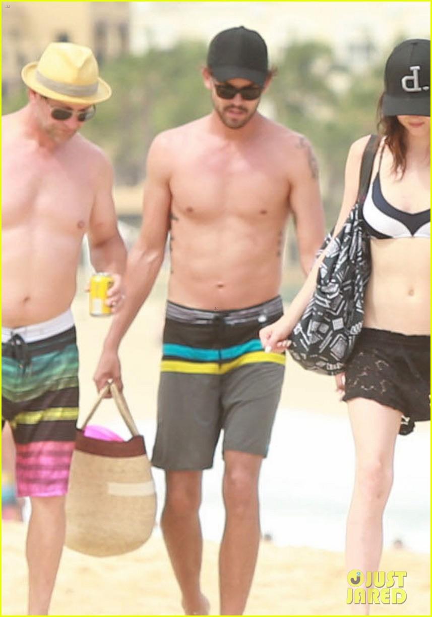 kaley cuoco covers bikini body with sheer wrap 203149978