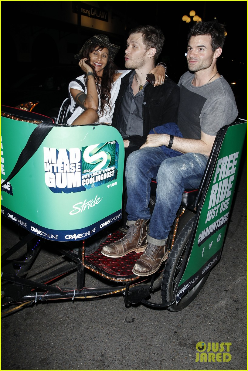 daniel gillies joseph morgan pedicab comic con 053163913