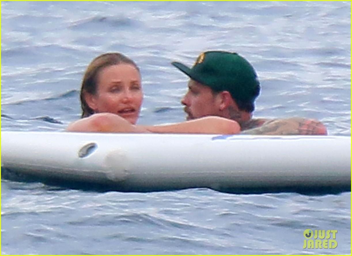 cameron diaz benji madden continue their romantic getaway by the sea 053163883