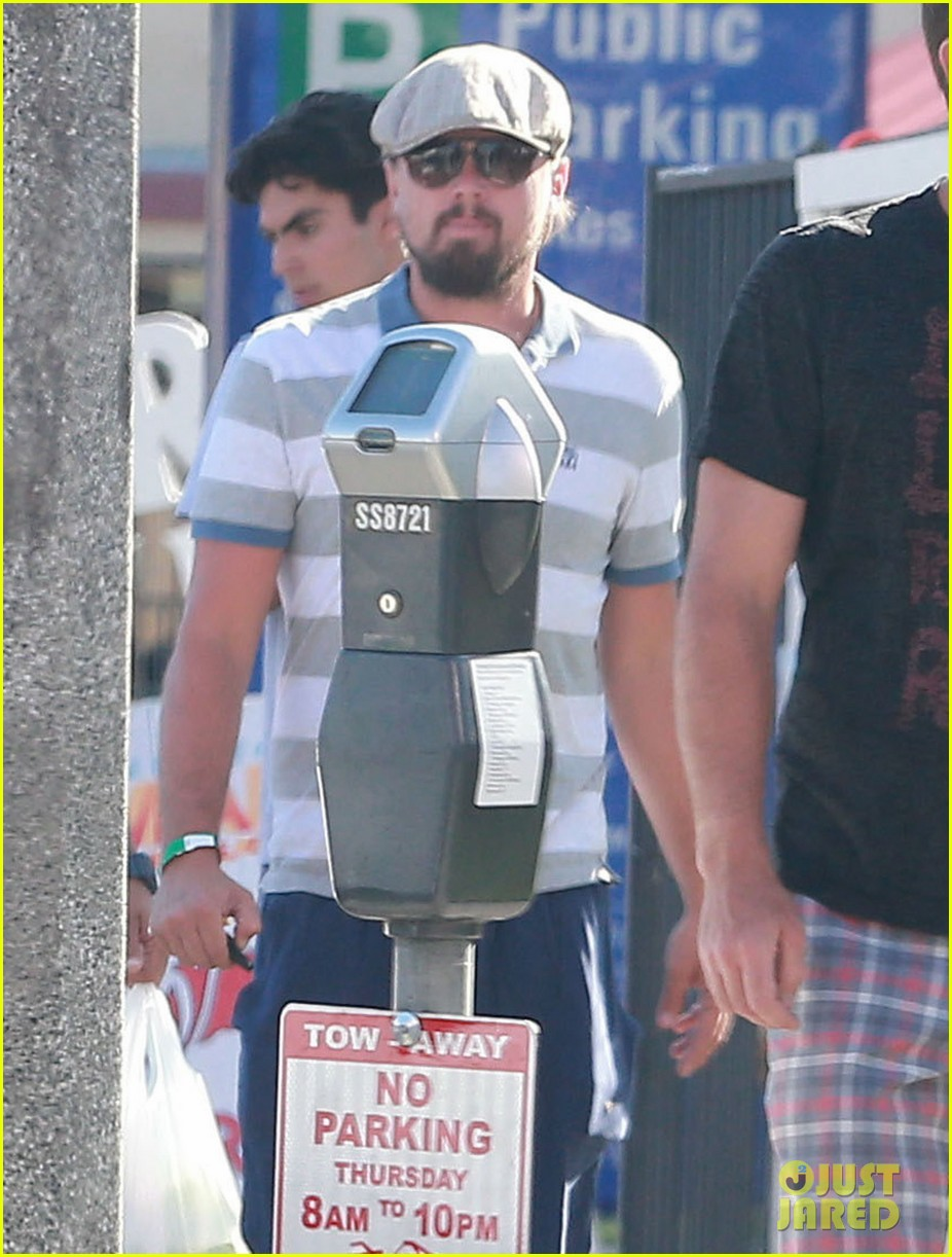 leonardo dicaprio sports scruffy beard 04