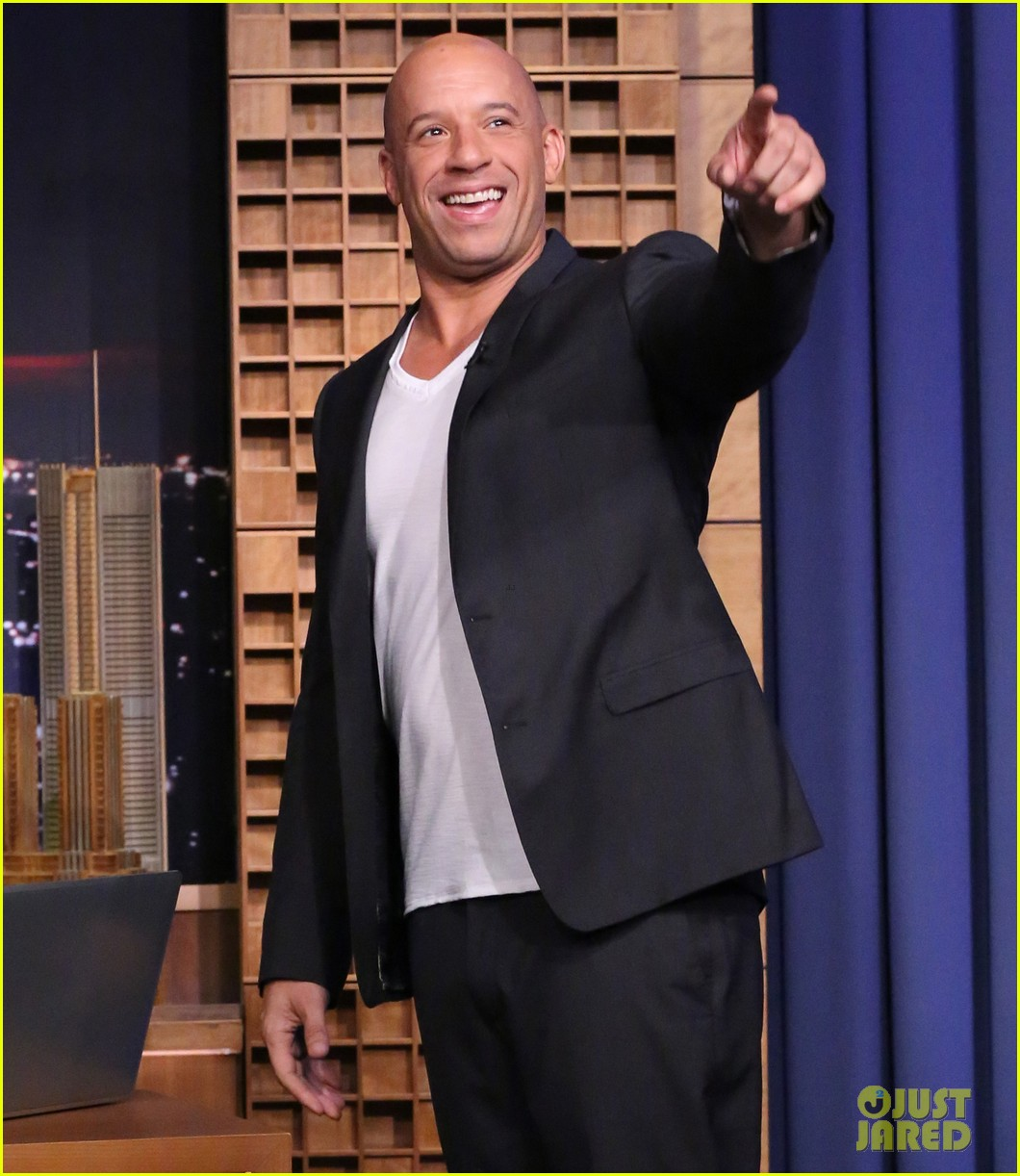 vin diesel says i am groot in multiple languages for the tonight show 113167159