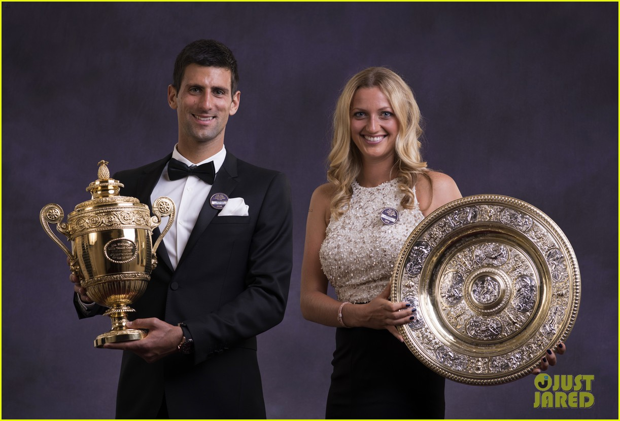 novak djokovic celebrates win at wimbledon championships winners ball 2014 063150864