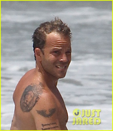 stephen dorff shirtless swim malibu 013150154