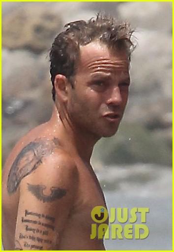 stephen dorff shirtless swim malibu 033150156