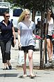elle fanning switches casual chic outfits errands 10