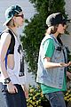 evan rachel wood ellen page grab dinner 02
